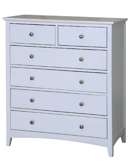 4+2 drawer chest W100 x D45 x H110 cm