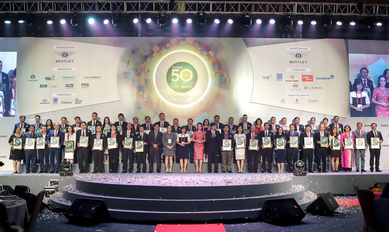 PTB reached the top 50 best listed companies - Phu Tai Joint